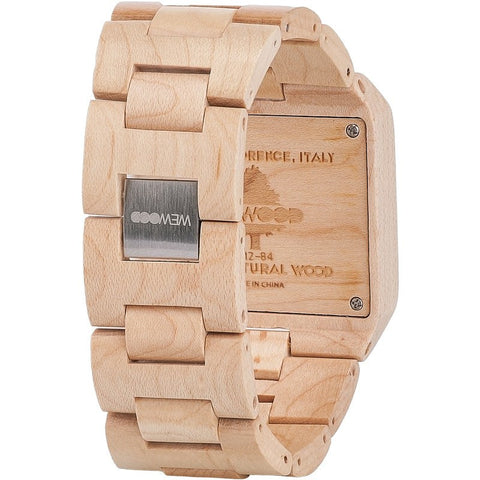 WeWood Sculptor Maple Wood Watch | Beige