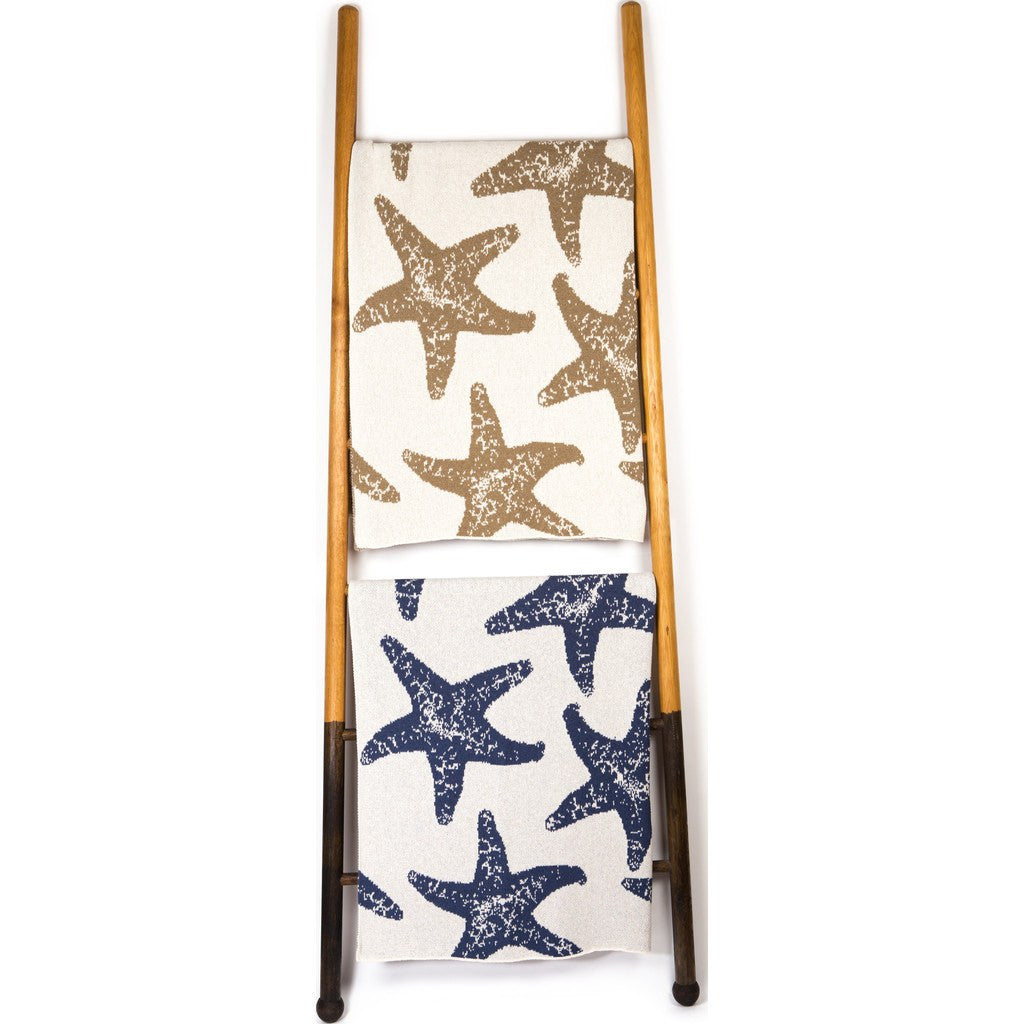 in2green Sea Star Eco Throw | Marine/Milk BL01SS4