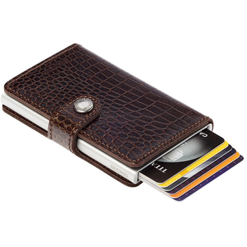 Secrid Mini Wallet Amazon | Brown