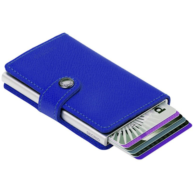 Secrid Mini Wallet Crisple | Cobalt
