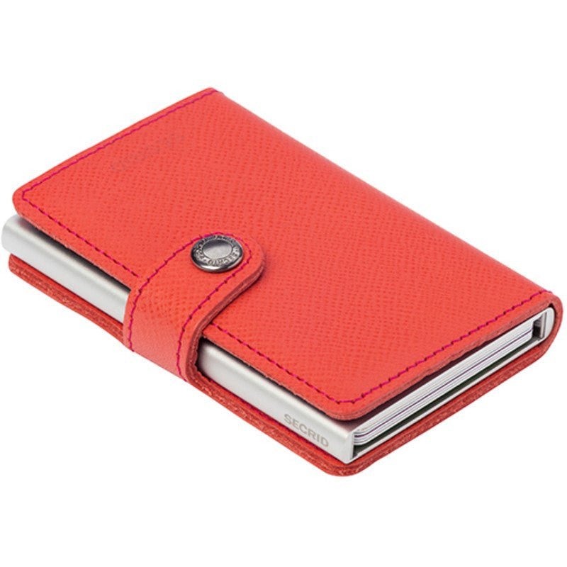 Secrid Mini Wallet Crisple | Coral