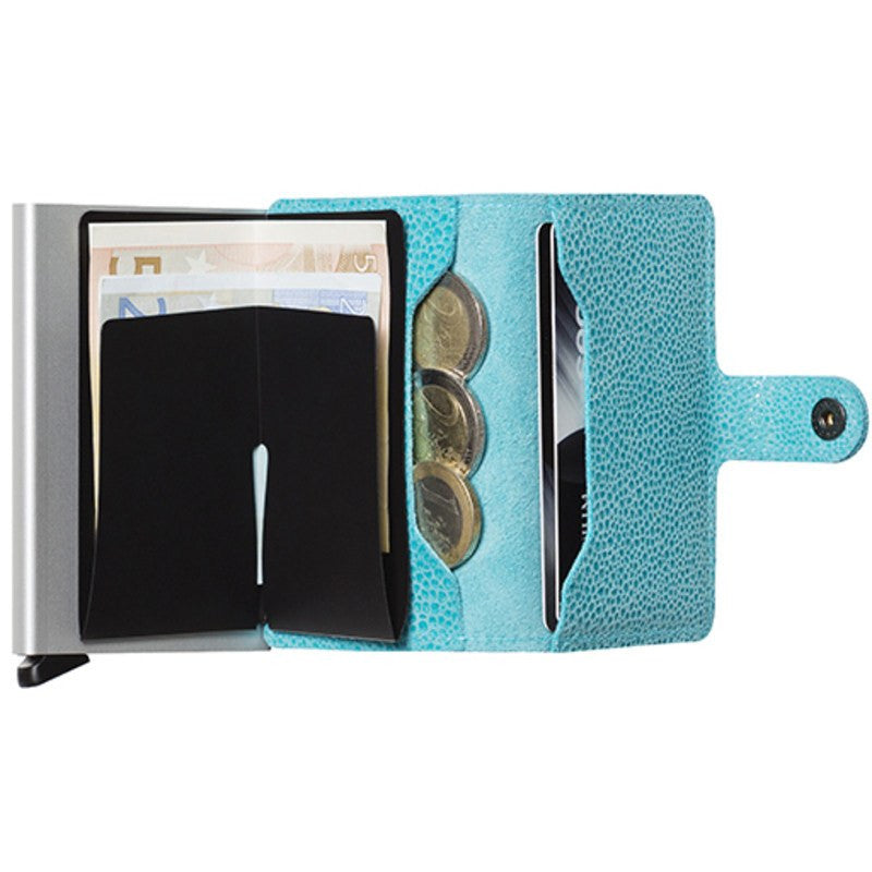 Secrid Mini Wallet Glamour | Azur