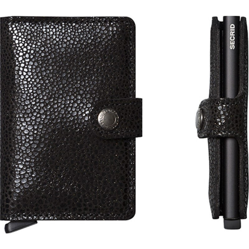 Secrid Mini Wallet Glamour | Black
