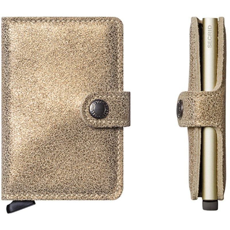 Secrid Mini Wallet Glamour | Champagne
