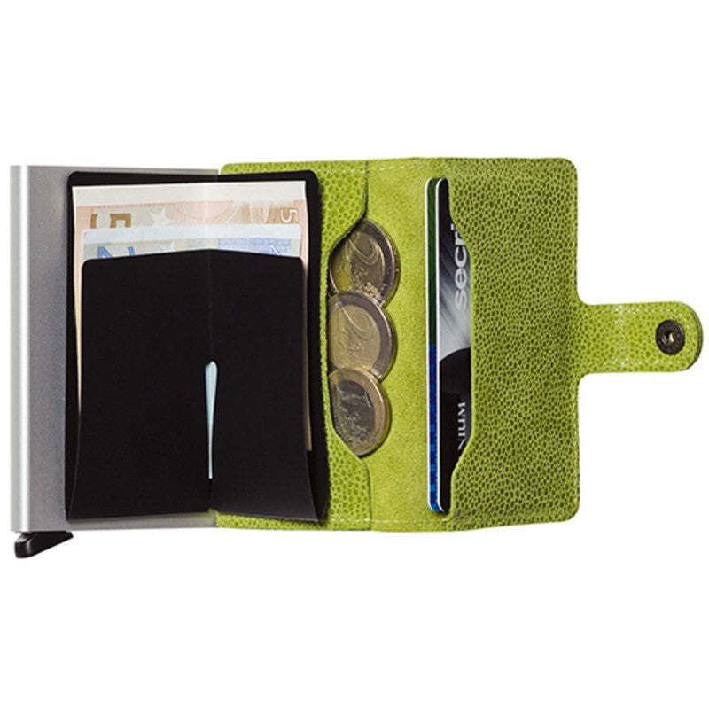 Secrid Mini Wallet Glamour | Green