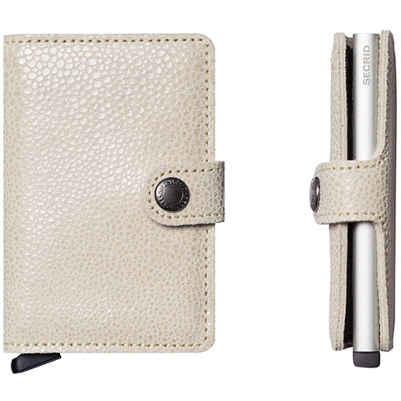 Secrid Mini Wallet Glamour | Ivory