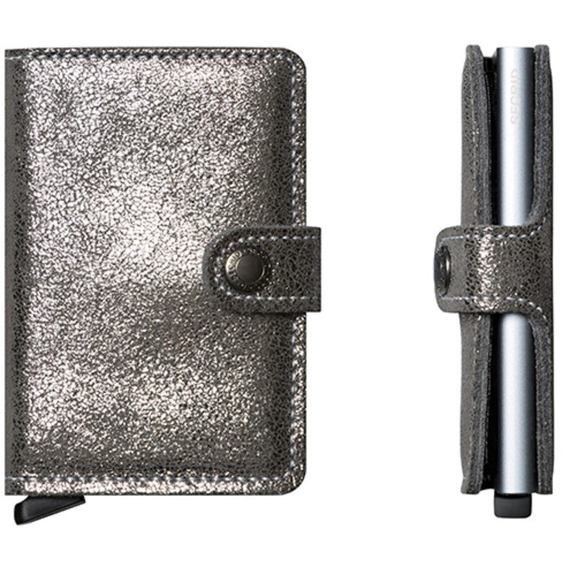 Secrid Mini Wallet Glamour | Silver
