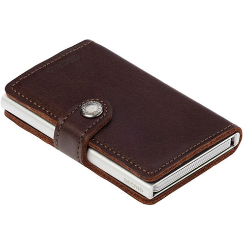 Secrid Mini Wallet Original | Dark Brown
