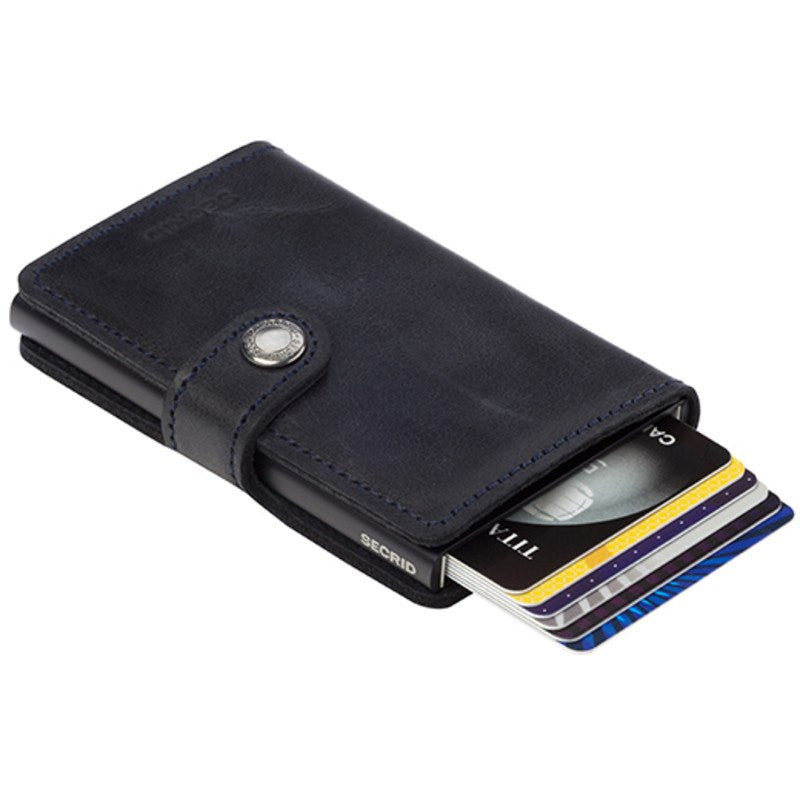 Secrid Mini Wallet Vintage | Black