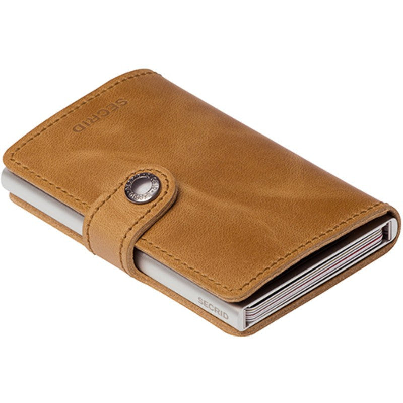 Secrid Mini Wallet Vintage | Cognac