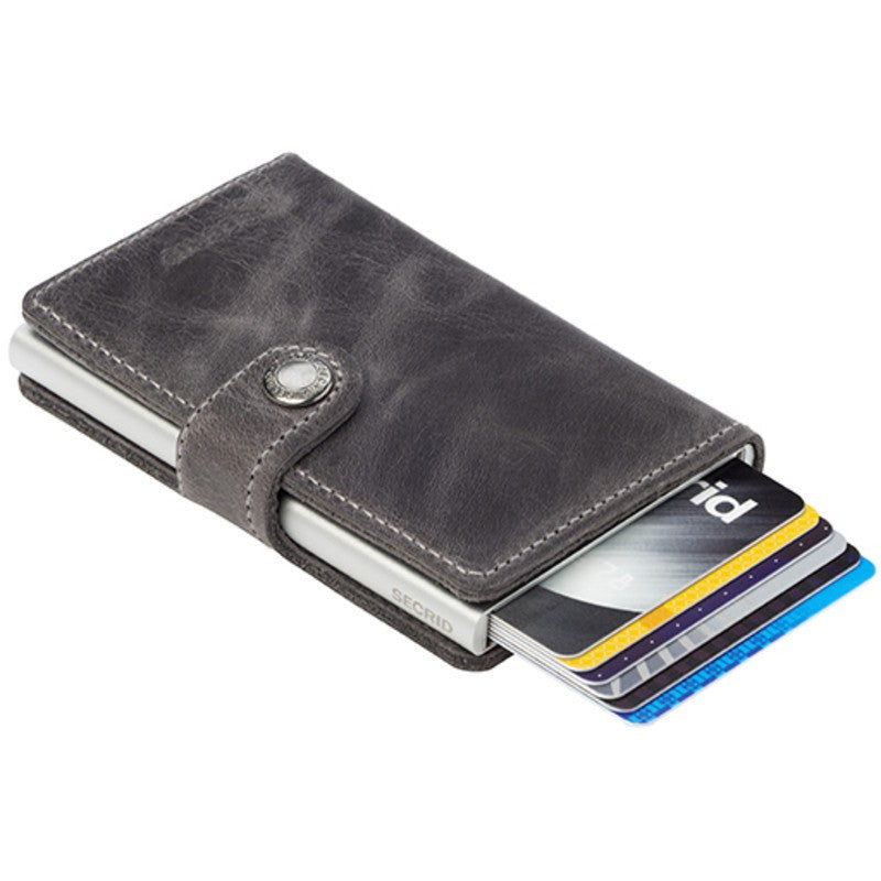 Secrid Mini Wallet Vintage | Grey