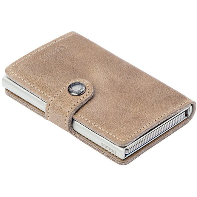 Secrid Mini Wallet Vintage | Taupe