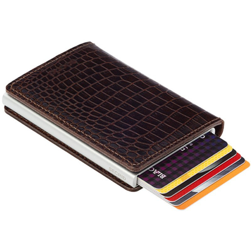 Secrid Slim Wallet Amazon | Brown