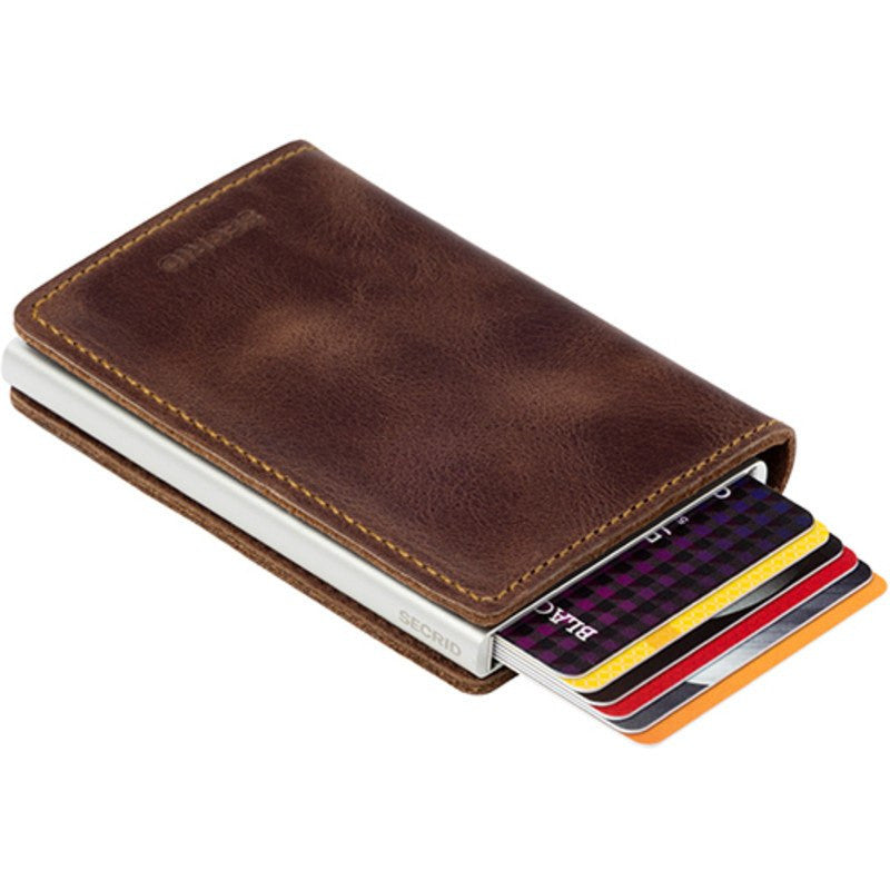 Secrid Slim Wallet Vintage | Brown