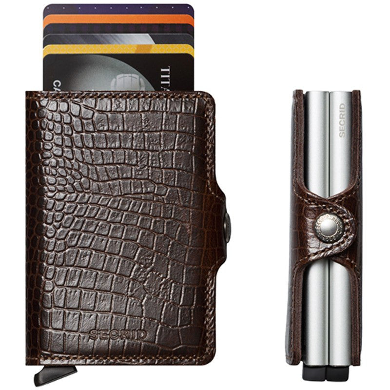 Secrid Twin Wallet Amazon | Brown
