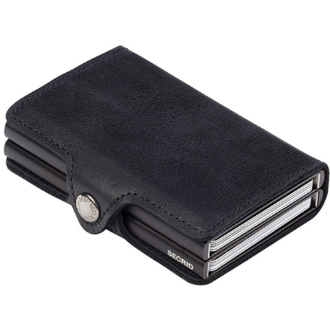 Secrid Twin Wallet Vintage | Black