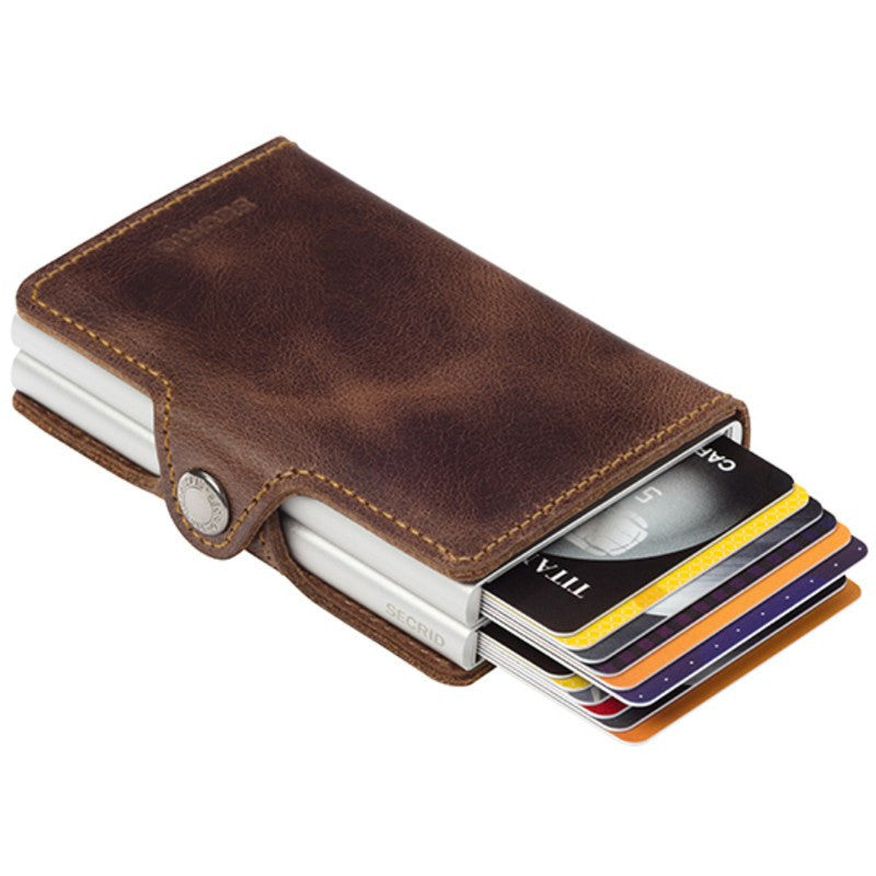 Secrid Twin Wallet Vintage | Brown