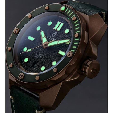 BOLDR Odyssey Automatic Dive Watch | Serpentine Bronze