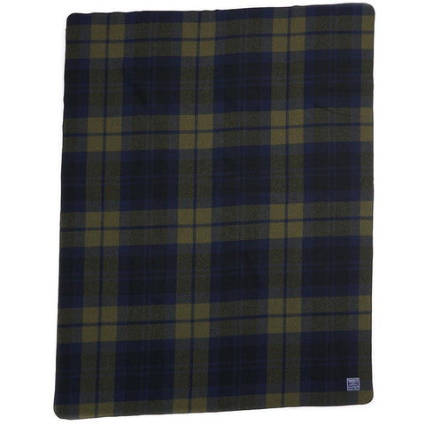 Faribault Shadow Plaid Throw | Wool