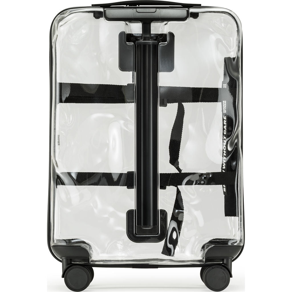 Crash Baggage Share Cabin Trolley Suitcase | Transparent CB141-50