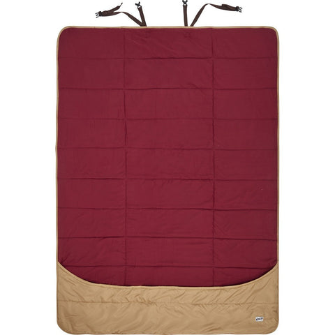 Kelty Shindig Blanket | Canyon Brown/Garnet Red/Lava 35416017CYB