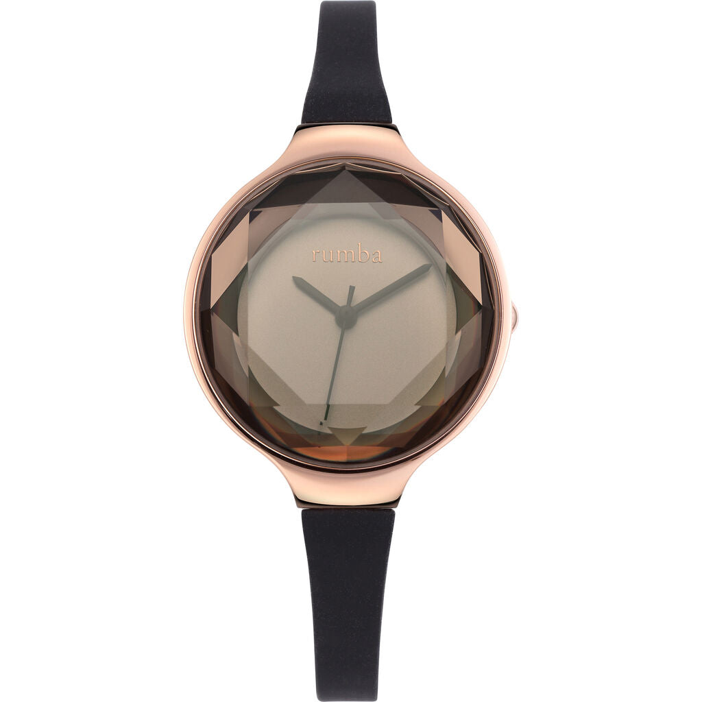 Rumba Time Orchard Gem Watch | Silicone Black 15628