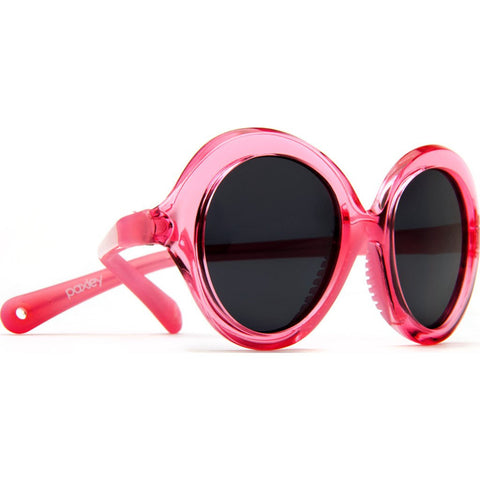 Paxley Silverlake Kids Sunglasses | Pink Crystal Ages 2-5 S3 Pink Clear