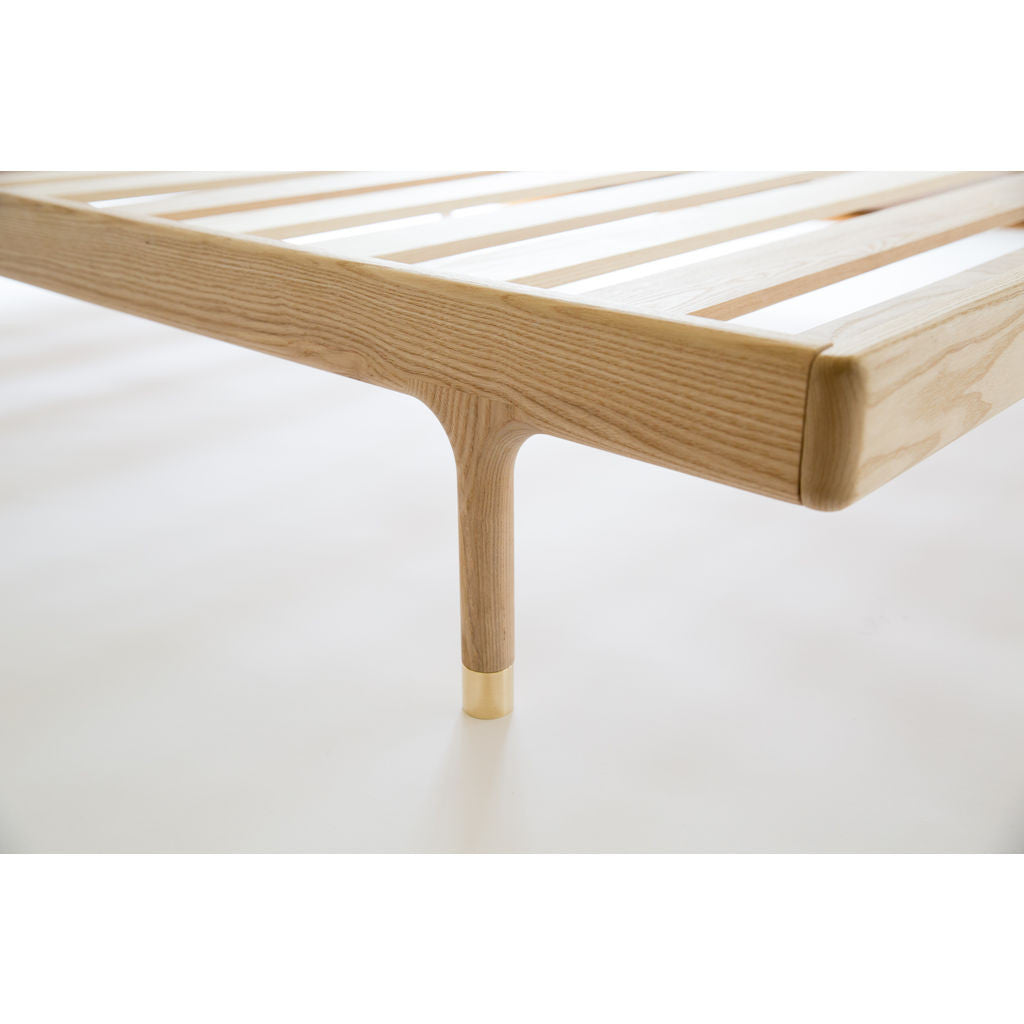 Kalon Simple Wood Bed Frame