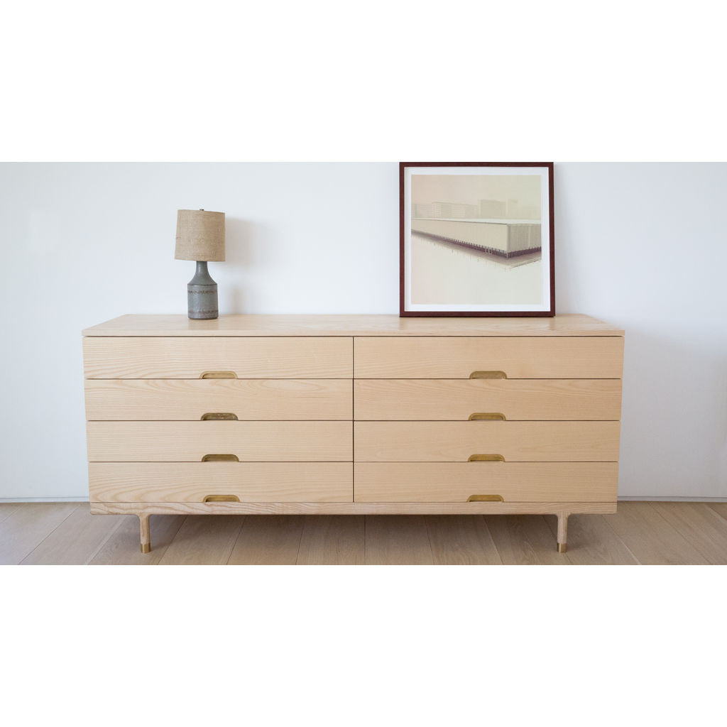 Kalon Simple Wood Dresser
