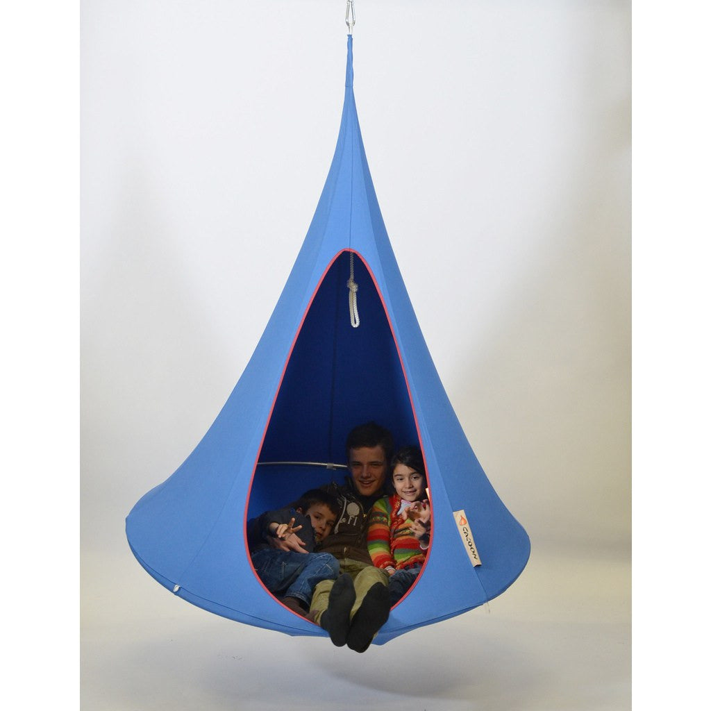 Cacoon Single Hanging Hammock | Sky Blue SB004