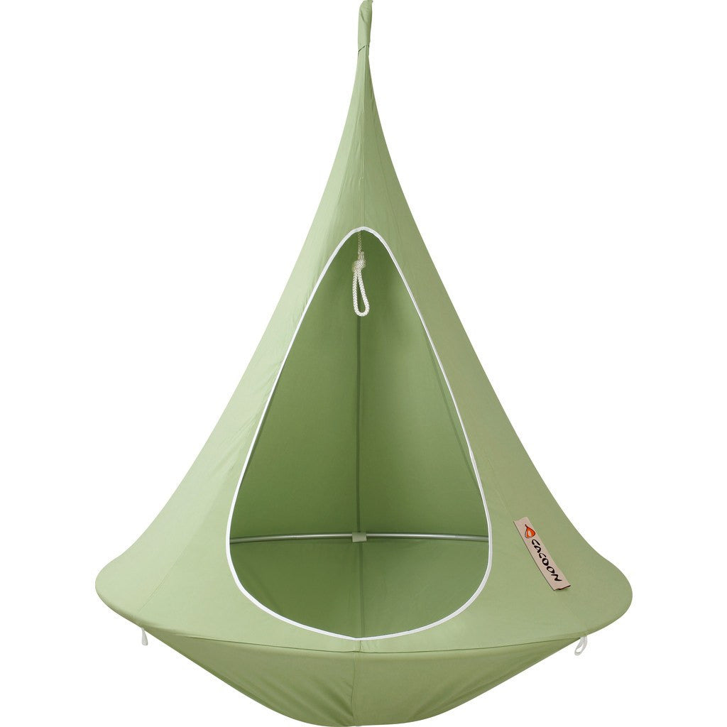 Cacoon Single Hanging Hammock | Leaf Green SG002