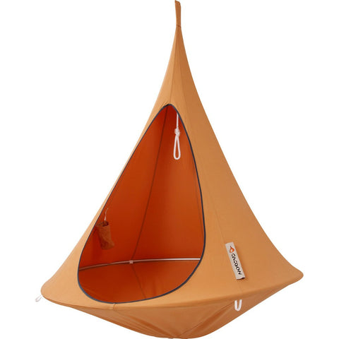 Cacoon Single Hanging Hammock | Mango Orange SM003