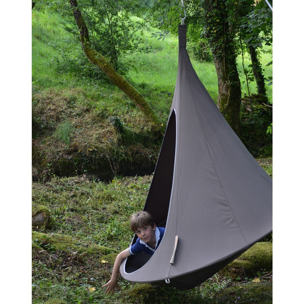 Cacoon Single Hanging Hammock | Deep Taupe ST007