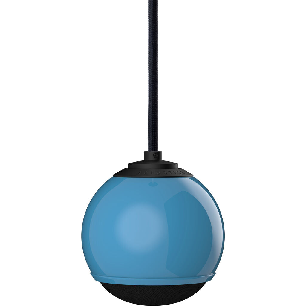 Gallo Acoustics Micro Single Droplet Speaker | Sky Blue/Black Cable