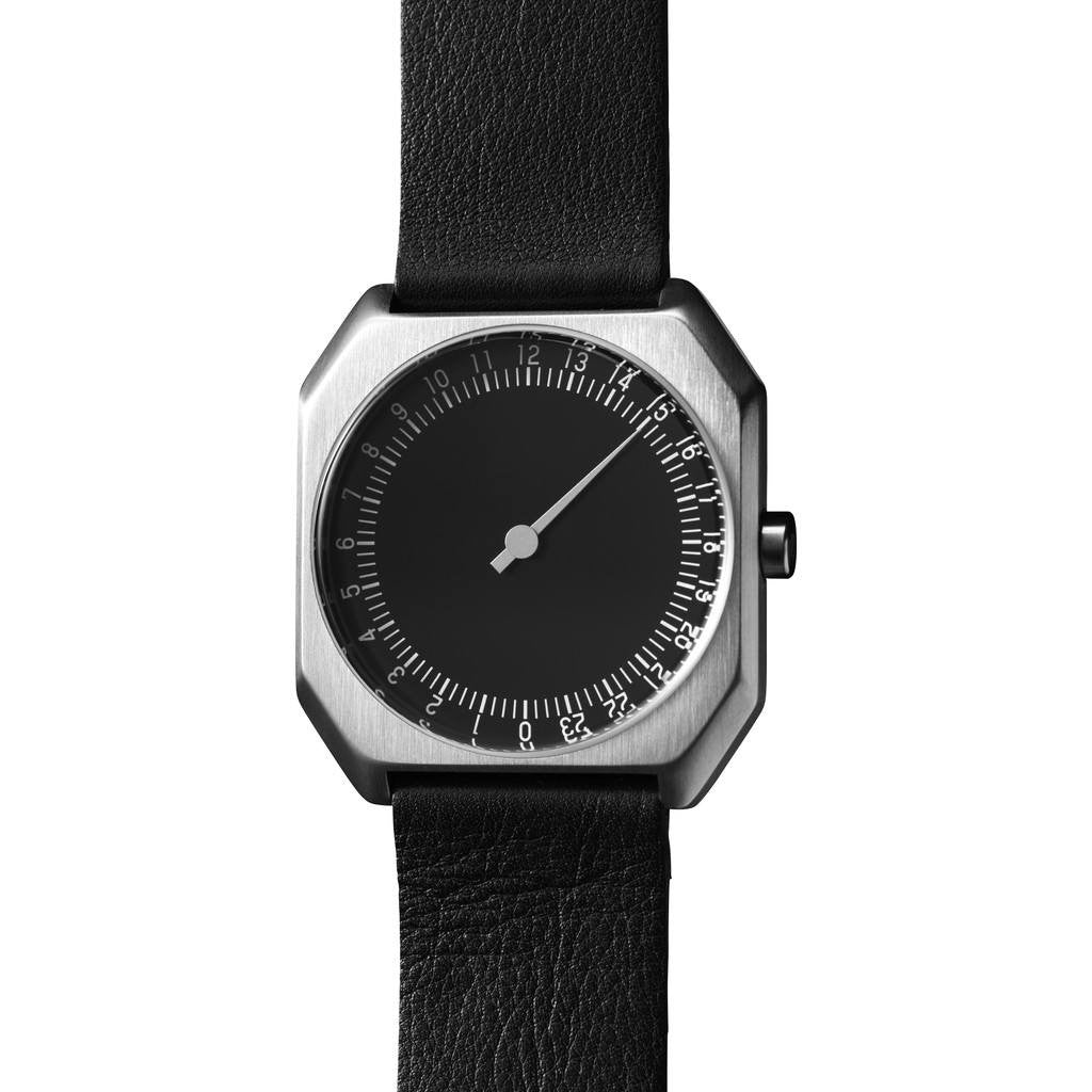 slow Jo 06 Black Watch | Black Leather