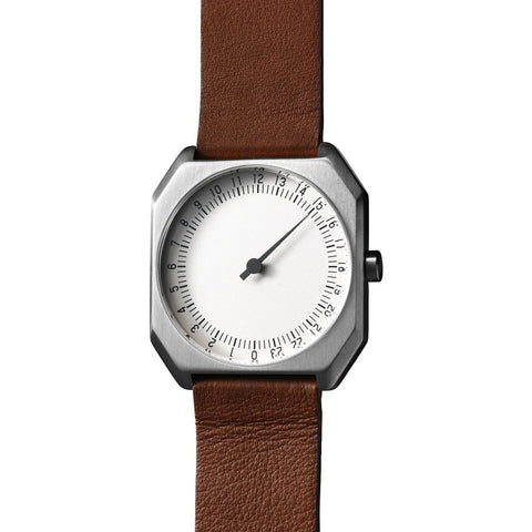 slow Jo 09 Cr?me Watch | Brown Leather