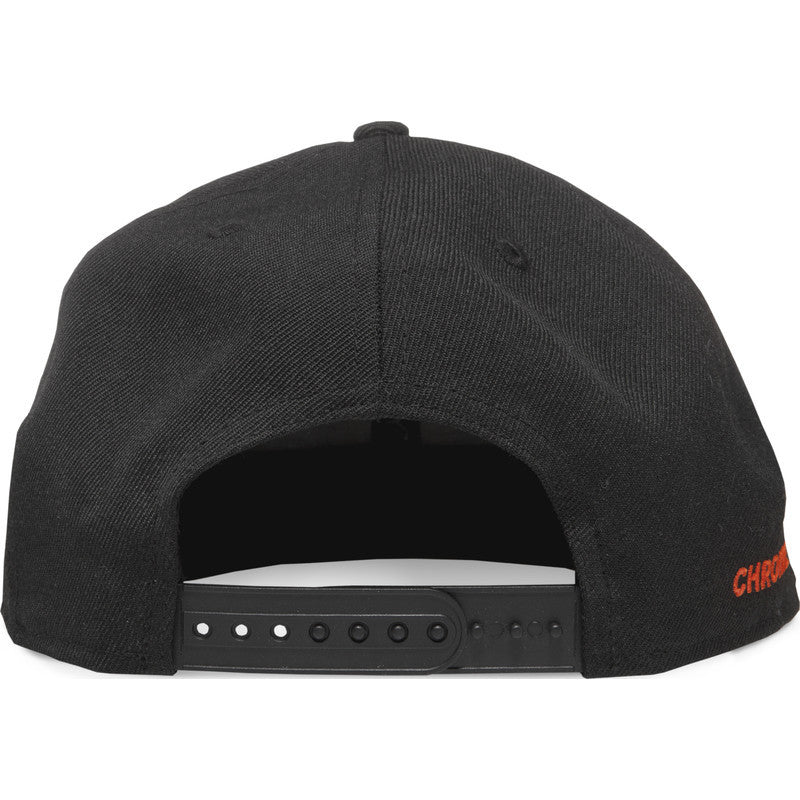 Chrome Giants Snapback Hat | Black/Orange