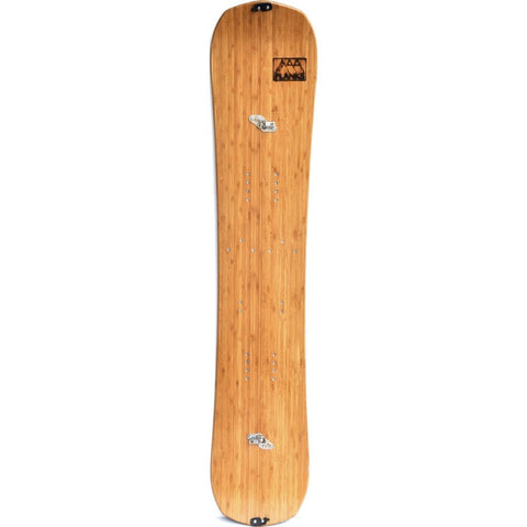 SnoPlanks Snodisc Split Edged Snowboard | Bamboo