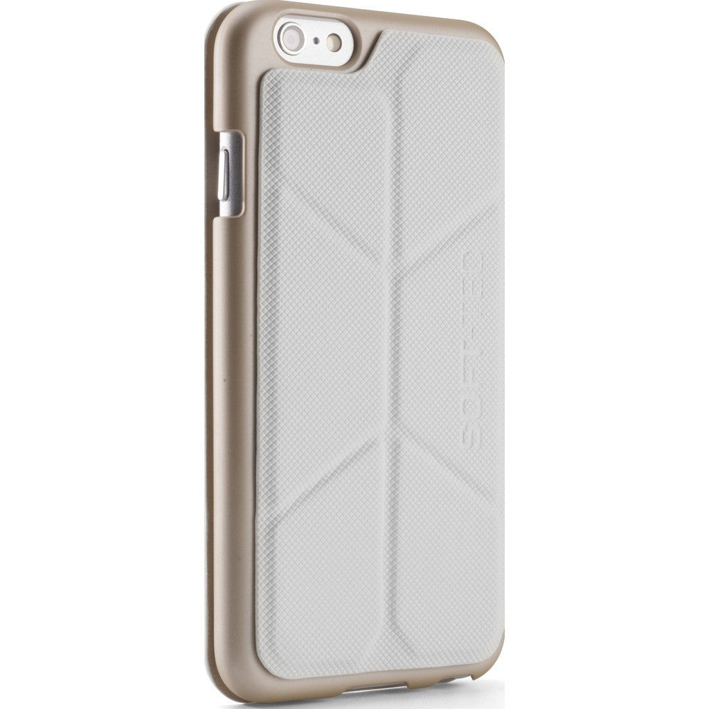 Element Case Soft-Tec Case for iPhone 6/6s Plus | White/Gold