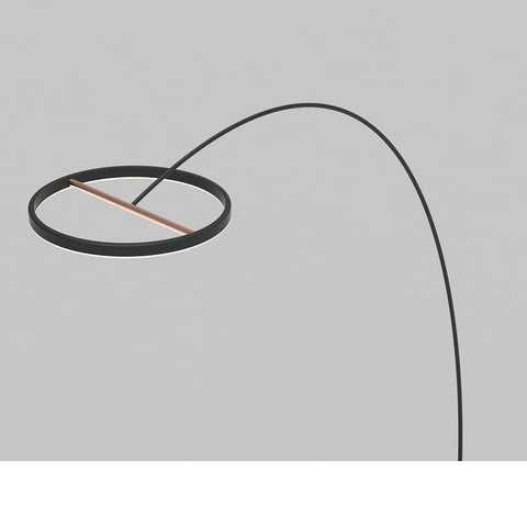 Seed Design Sol Mega Floor Lamp LED - Matt Black, SLD-450FLTE