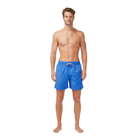 Tom & Teddy Men's Solid Swim Trunk | Electric Blue