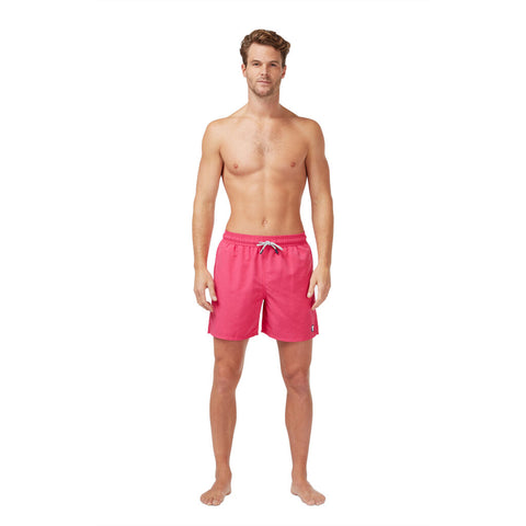 Tom & Teddy Men's Solid Swim Trunk | Hot Pink