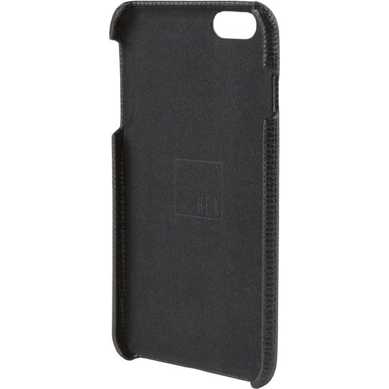 Hex Solo Wallet for iPhone 6 Plus | Black Woven Leather