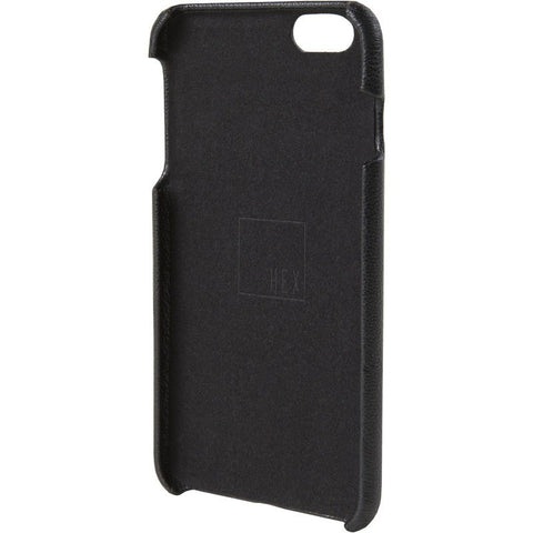 Hex Solo Wallet for iPhone 6 Plus | Black Leather
