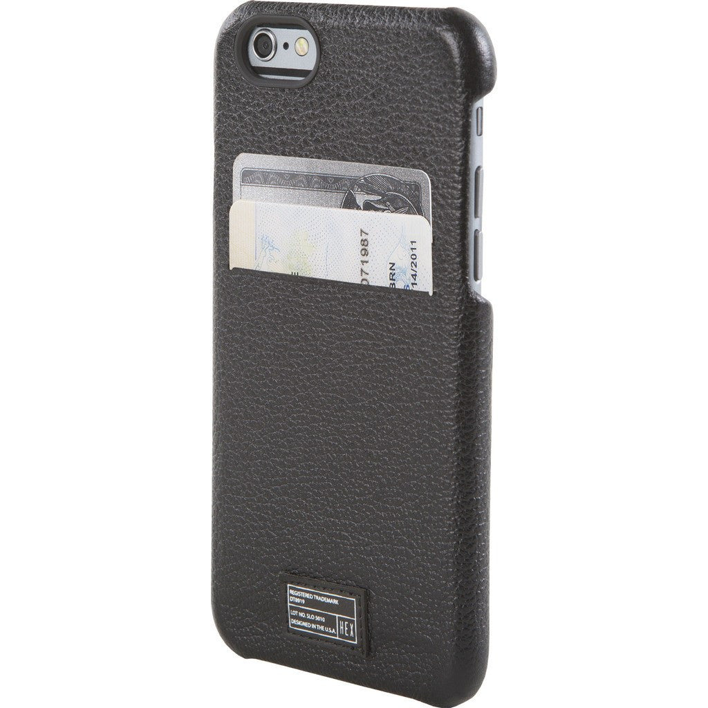 Hex Solo Wallet for iPhone 6/6s | Black BLCK HX1751