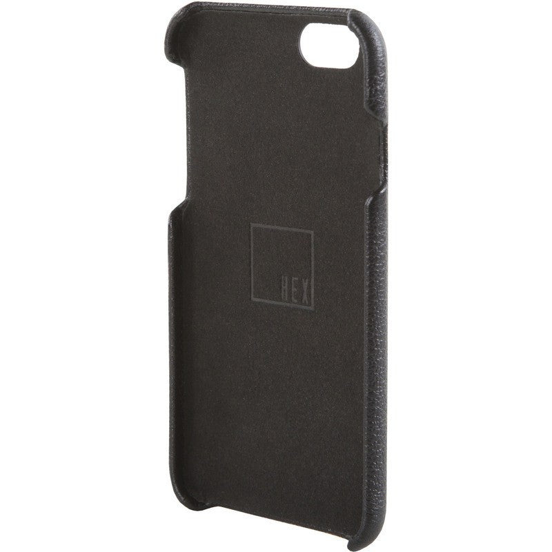 Hex Solo Wallet for iPhone 6 Black Leather | HX1751 BLCK