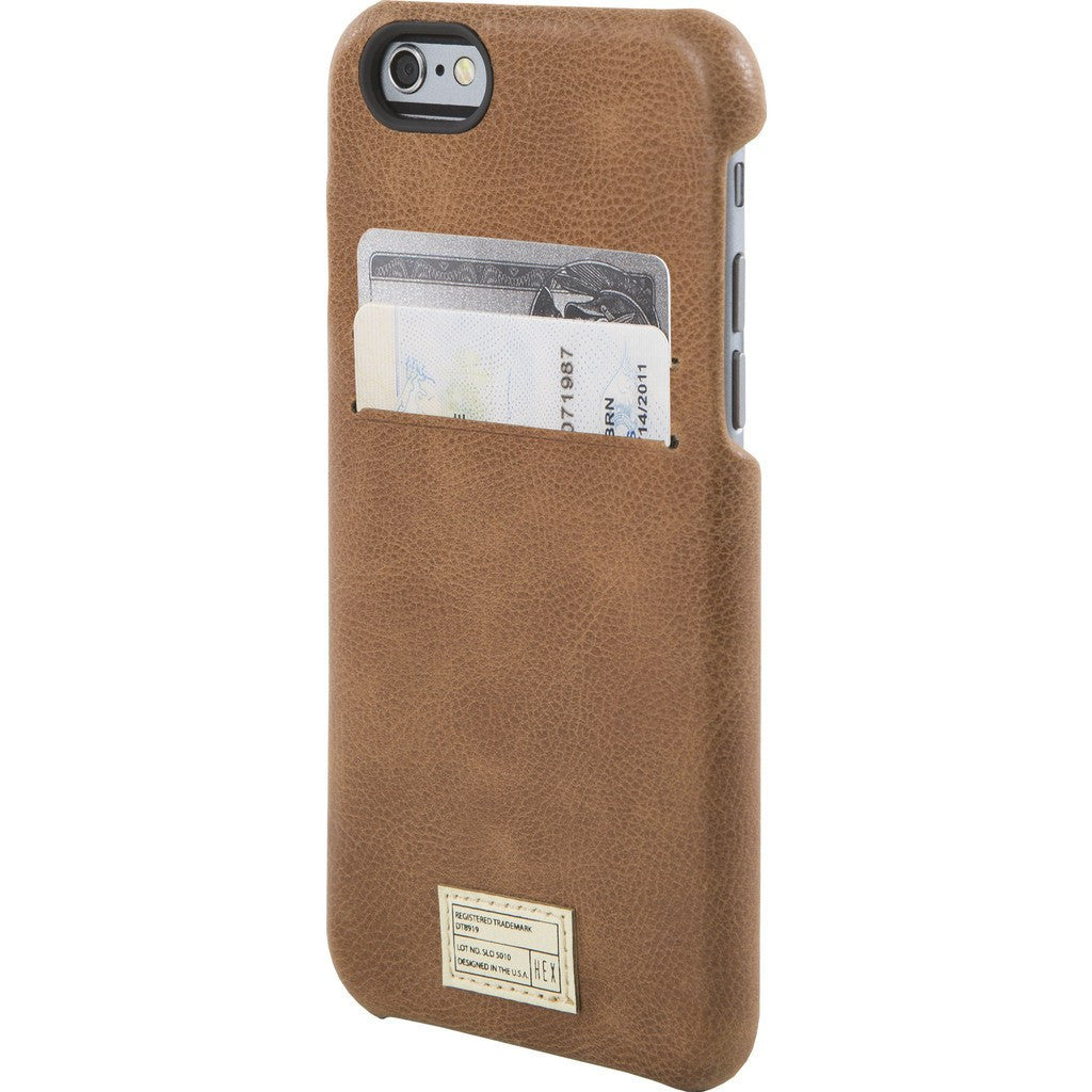 Hex Solo Wallet for iPhone 6/6s | Brown BRWN HX1751