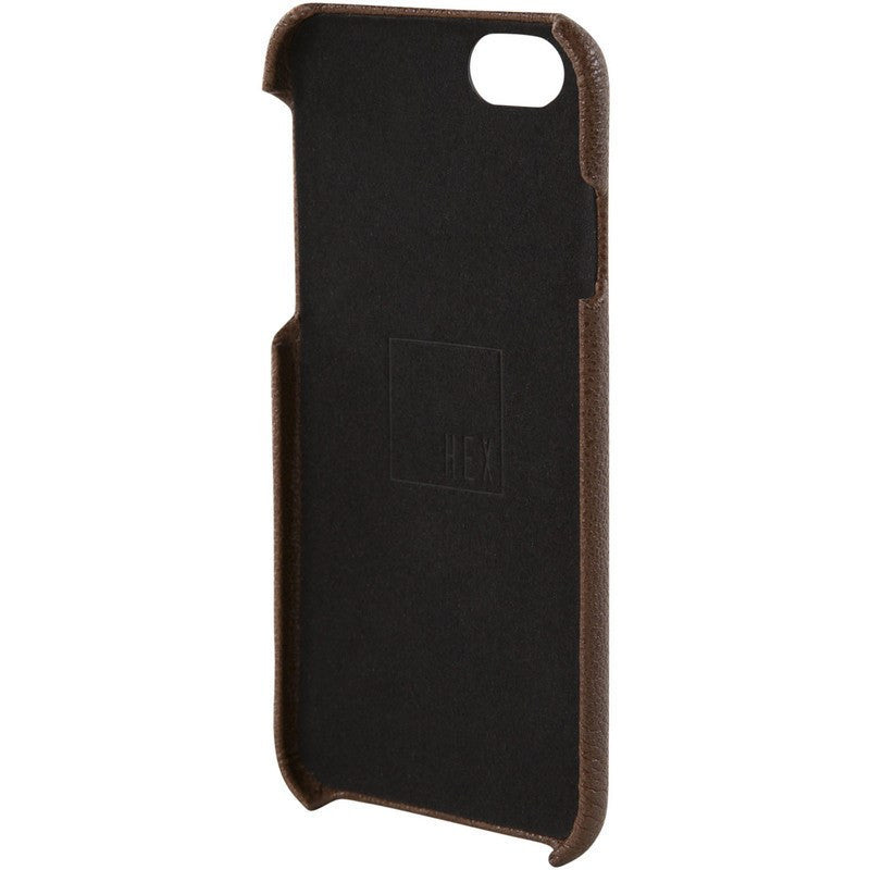 Hex Solo Wallet for iPhone 6 | Dark Brown