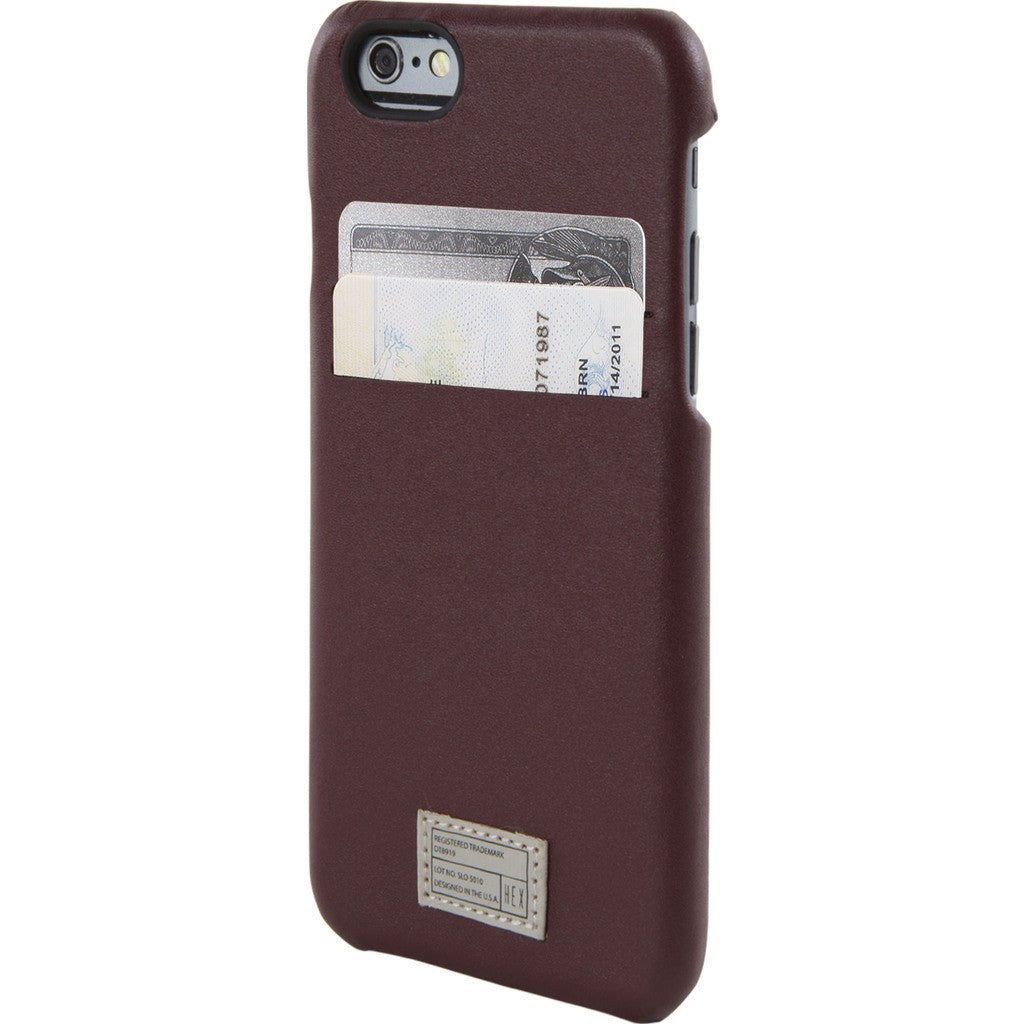 Hex Solo Wallet for iPhone 6/6s | Morrocan Red MORD HX1751