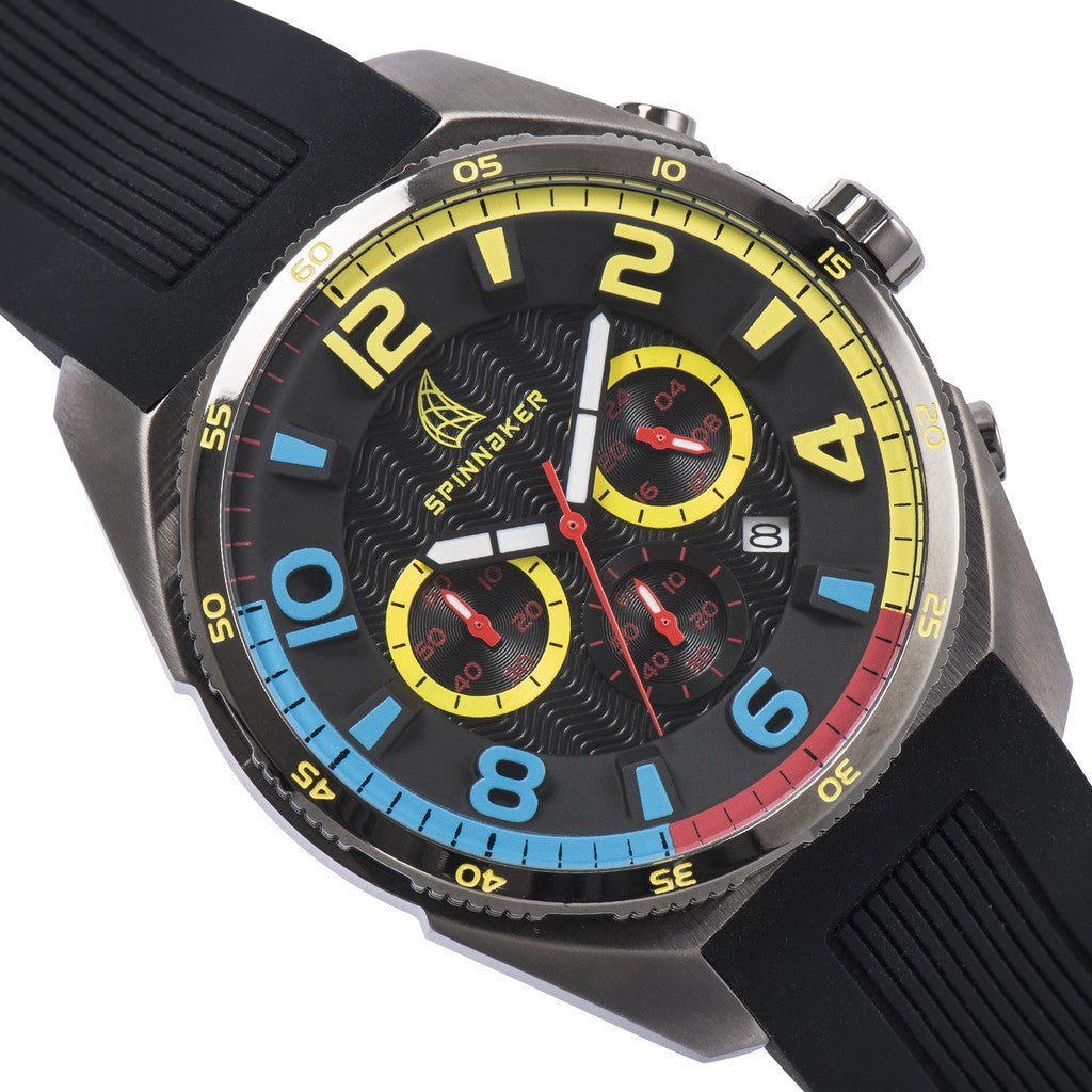 Spinnaker Reef Core SP-5022-09 Watch | Black